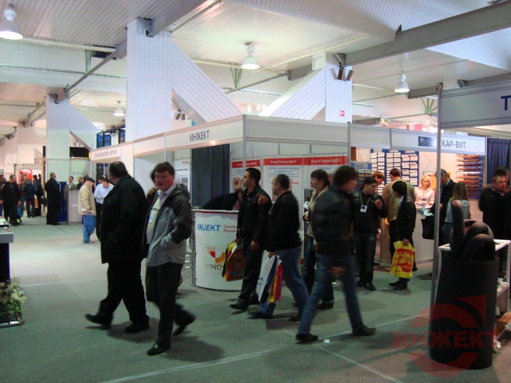 Строительная выставка. Москва 2010 год