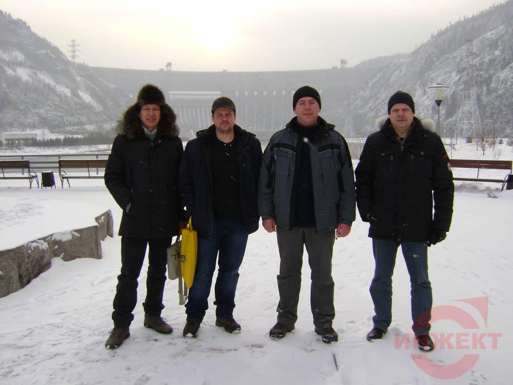 Саяно-Сушинская ГЭС.