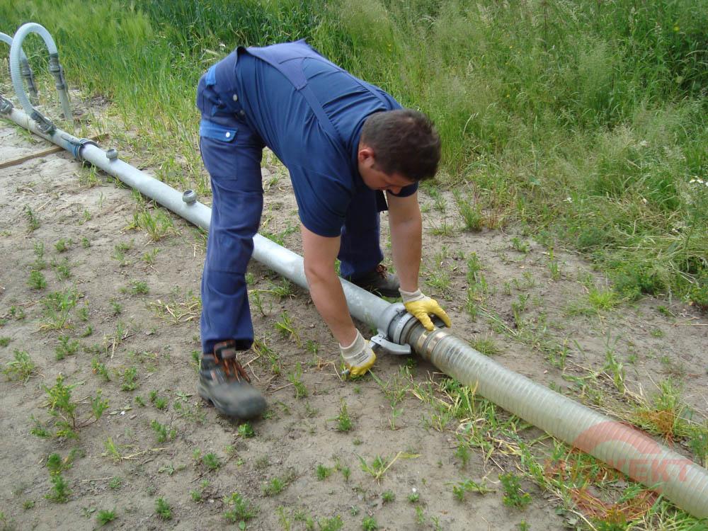 Монтаж установки водопонижения